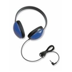 Califone 2800-BL Lightweight Stereo Headphone - Blue