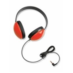 Califone 2800-RD Lightweight Stereo Headphone - Red