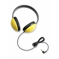 Califone 2800-YL Lightweight Stereo Headphone - Yellow