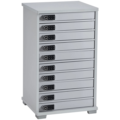Monarch Lapcabby - Universal Lyte Multi Mini 10 Station Charger Cabinet